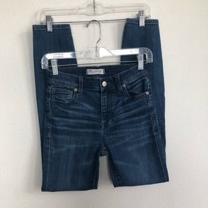 Madewell Jeans - Madewell high riser skinny stretch denim jeans 24
